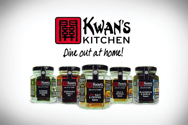 Kwan's Kitchen | label design | LBD